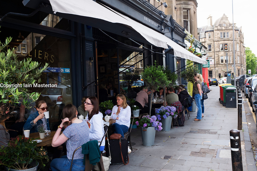Montpeliers cafe in Bruntsfield district of Edinburgh, Scotland, United Kingdom