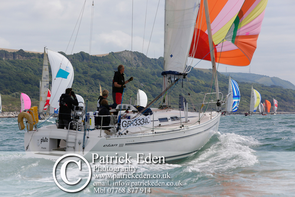 2017, July 1, Round the island Race, Round the Island Race, UK, Isle of Wight, Cowes, PLUTO, GBR 3334C,