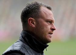Newport County manager Michael Flynn looks on - Mandatory by-line: Nizaam Jones/JMP- 10/02/2018 - FOOTBALL - Rodney Parade - Newport, Wales- Newport County v Forest Green Rovers - Sky Bet League Two