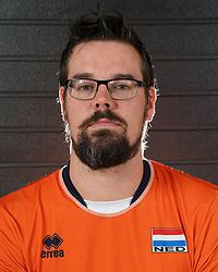 07-10-2017 NED: Portret zitvolleybalteam Oranje mannen 2017-2018, Doorn<br /> Nederland bereidt zich voor op het komende EK zitvolleybal / Willem Siepel