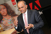 Adobe CEO Shantanu Narayen opens new Adobe office suite in the Sydney CBD, Australia.