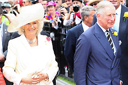 © Licensed to London News Pictures. 06/11/2012. Their Royal Highnesses, The Prince of Wales, Prince Charles and The Duchess of Cornwall, Camilla Parker Bowles  during the Emirates Melbourne Cup at the Flemington Racecourse, Melbourne. Photo credit : Asanka Brendon Ratnayake/LNP