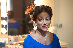 Jasmine Muhammad, resident artist and opera singer at the Pittsburgh Opera.