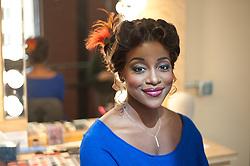 Jasmine Muhammad, resident artist and opera singer at the Pittsburgh Opera.