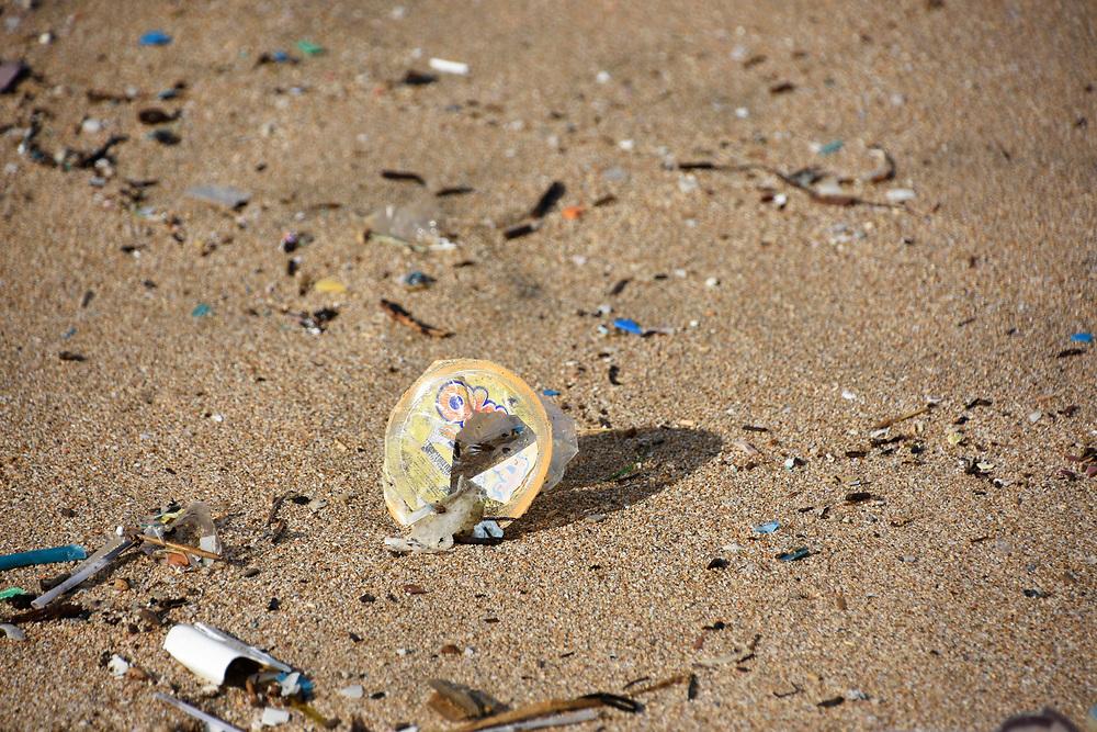 Rubbish on Kuta beach, Bali