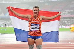 23/07/2017 : Marlou van Rhijn (NED), T44, Women's 200m, Final, at the 2017 World Para Athletics Championships, Olympic Stadium, London, United Kingdom