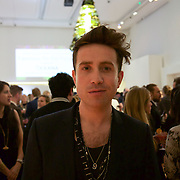 Presenter of the Junior Ocean Council's benefit Fashions for the Future, Nick Grimshaw.