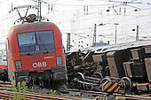 Bergung der Züge