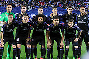 Team of Real Madrid during the Spanish championship Liga football match between Club Deportivo Leganes and Real Madrid on April 05, 2017 at Butarque Stadium in Leganes, Spain - Photo Irina RH / SpainProSportsImages / DPPI / ProSportsImages / DPPI