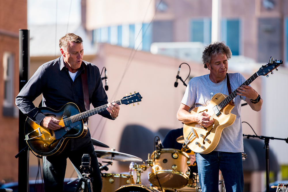 The Dubious Brothers performed on the main stage Saturday.