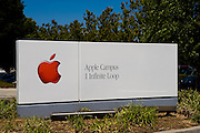 Corporate headquarters for Apple Computer Corporation in Cupertino California, 1 Infinity Loop