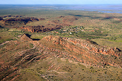 The Aboriginal community of Looma lies nestled behind Grant's Range on the Fitzroy Floodplain.