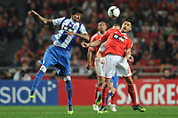 20120302: LISBON, PORTUGAL - Liga Zon Sagres 2011/2012: SL Benfica vs FC Porto.<br /> In photo: Javi Garcia and Lucho.<br /> PHOTO: Alexandre Pona/CITYFILES
