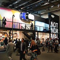 Mini Stand at the IAA 2013, Frankfurt, Germany