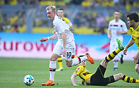 v.l. Julian Brandt, Julian Weigl (Dortmund)<br /> Dortmund, 21.04.2018, Fussball Bundesliga, Borussia Dortmund - Bayer 04 Leverkusen 4:0<br /> <br /> Norway only