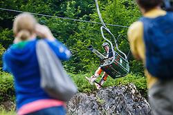 Peter Prevc of Slovenia during Ski Jumping Continental Cup in Kranj, Slovenia Photo by Grega Valancic / Sportida