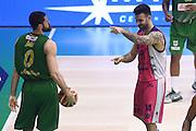 Brian Sacchetti, Andrea Zerini<br /> Sidigas Scandone Avellino - Banco di Sardegna Dinamo Sassari<br /> Poste Mobile Final Eight F8 2017 <br /> Lega Basket 2016/2017<br /> Rimini, 17/02/2017<br /> Foto M.Ceretti / Ciamillo-Castoria