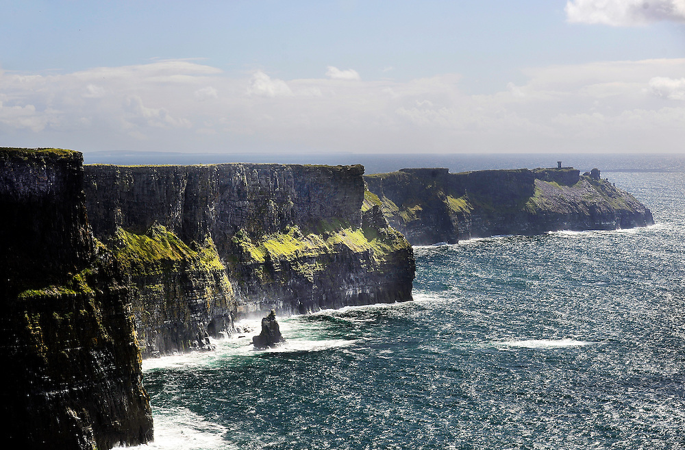 The Cliffs of Moher in Co. Clare, Ireland.