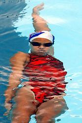 Atleta durante prova de natação em piscina olípica.FOTO: Jefferson Bernardes / Preview.com