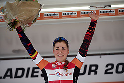 Stage winner, Lisa Klein (GER) at Boels Ladies Tour 2019 - Stage 3, a 156.8 km road race starting and finishing in Nijverdal, Netherlands on September 6, 2019. Photo by Sean Robinson/velofocus.com