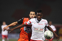 Fouad CHAFIK / Abdou COULIBALY  - 06.03.2015 - Nancy / Laval - 27eme journee de Ligue 2 <br />Photo : Fred Marvaux / Icon Sport