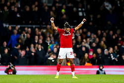 Ashley Williams of Bristol City celebrates after Bristol City win 1-2 - Rogan/JMP - 07/12/2019 - Craven Cottage - London, England - Fulham v Bristol City - Sky Bet Championship.