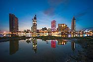 Vietnam images-cityscape-Hochiminh city-Saigon