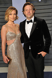 Arrivals at the 2018 Vanity Fair Oscar Party Hosted By Radhika Jones. 04 Mar 2018 Pictured: Olivia Wilde; Jason Sudeikis. Photo credit: Leon Brezer / MEGA TheMegaAgency.com +1 888 505 6342