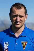 FOOTBALL POLISH EKSTRAKLASA SEASON 2014/2015<br /> Pogon Szczecin<br /> N/Z Boris Peskovic (trener bramkarzy)