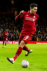 Roberto Firmino of Liverpool - Mandatory by-line: Robbie Stephenson/JMP - 07/01/2019 - FOOTBALL - Molineux - Wolverhampton, England - Wolverhampton Wanderers v Liverpool - Emirates FA Cup third round proper