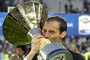 © Filippo Alfero<br /> Juventus-Napoli, Serie A 2014/2015 e assegnazione Coppa Scudetto<br /> Torino, 23/05/2015<br /> sport calcio<br /> Nella foto: