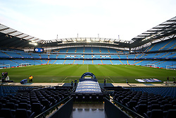 A general view of the Etihad Stadium - Mandatory by-line: Matt McNulty/JMP - 26/09/2017 - FOOTBALL - Etihad Stadium - Manchester, England - Manchester City v Shakhtar Donetsk - UEFA Champions League Group stage - Group F