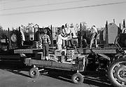 Lossning och lastning i Abisko