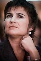 Nederland. Amsterdam, 6 oktober 2007.<br /> PvdA Congres in de RAI. Lilianne Ploumen, partijvoorzitter.<br /> Foto Martijn Beekman <br /> NIET VOOR TROUW, AD, TELEGRAAF, NRC EN HET PAROOL