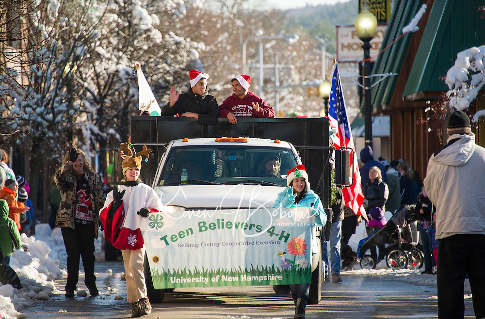 Laconia annual Holiday Parade.  Karen Bobotas for the Laconia Daily Sun