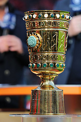 08.04.2015, BayArena, Leverkusen, GER, DFB Pokal, Bayer 04 Leverkusen vs FC Bayern Muenchen, Viertelfinale, im Bild DFB Pokal // during the German DFB Pokal quarter final match between Bayer 04 Leverkusen and FC Bayern Munich at the BayArena in Leverkusen, Germany on 2015/04/08. EXPA Pictures © 2015, PhotoCredit: EXPA/ Eibner-Pressefoto/ Schüler<br /> <br /> *****ATTENTION - OUT of GER*****