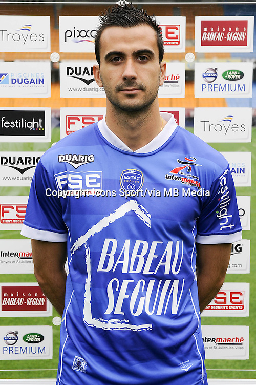 Matthieu SAUNIER - 11.09.2013 - Photo Officielle - Troyes<br /> Photo : Icon Sport