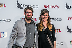 October 11, 2016 - Nashville, Tennessee, USA - Nathan William at the 47th Annual GMA Dove Awards  in Nashville, TN at Allen Arena on the campus of Lipscomb University.  The GMA Dove Awards is an awards show produced by the Gospel Music Association. (Credit Image: © Jason Walle via ZUMA Wire)