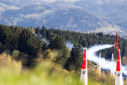 26.10.2014, Red Bull Ring, Spielberg, AUT, Red Bull Air Race, Renntag, im Bild Pete McLeod, (CAN) // during the Red Bull Air Race Championships 2014 at the Red Bull Ring in Spielberg, Austria, 2014/10/26, EXPA Pictures © 2014, PhotoCredit: EXPA/ M.Kuhnke