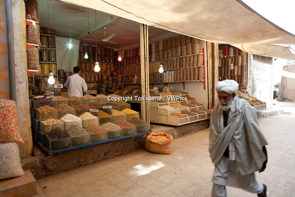 nuts-shop in herat, Afghanistan