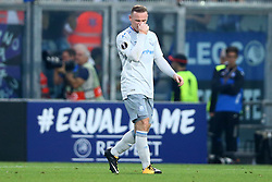 September 14, 2017 - Reggio Emilia, Italy - Wayne Rooney of Everton after the goal of 2-0  during the UEFA Europa League Group E football match Atalanta vs Everton at The Stadio Città del Tricolore in Reggio Emilia on September 14, 2017. (Credit Image: © Matteo Ciambelli/NurPhoto via ZUMA Press)