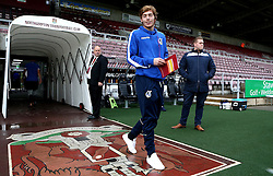 Luke James of Bristol Rovers arrives at Sixfields for the Sky Bet League One fixture with Northampton Town - Mandatory by-line: Robbie Stephenson/JMP - 01/10/2016 - FOOTBALL - Sixfields Stadium - Northampton, England - Northampton Town v Bristol Rovers - Sky Bet League One