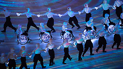 March 9, 2018 - Pyeongchang, South Korea - Opening Ceremony for the 2018 Pyeongchang Winter Paralympic Games March 9, 2018. Photo by Mark Reis (Credit Image: © Mark Reis via ZUMA Wire)