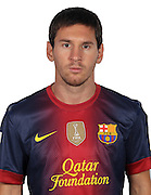 F.C. Barcelona 2012 / 2013. Lionel Messi...Photo: Gregorio / ALFAQUII