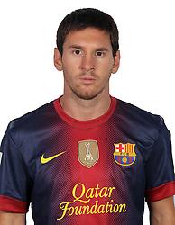F.C. Barcelona 2012 / 2013. Lionel Messi...Photo: Gregorio / ALFAQUII