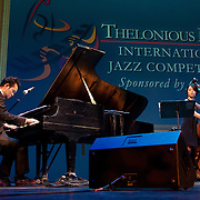 "Yusuke Nakamura plays ""Heavenly Seven"", his own compostion, at the 25th annual Thelonious Monk International Jazz Competition and ?Women, Music and Diplomacy? All-Star Gala Concert at the Kennedy Center in Washington, DC."