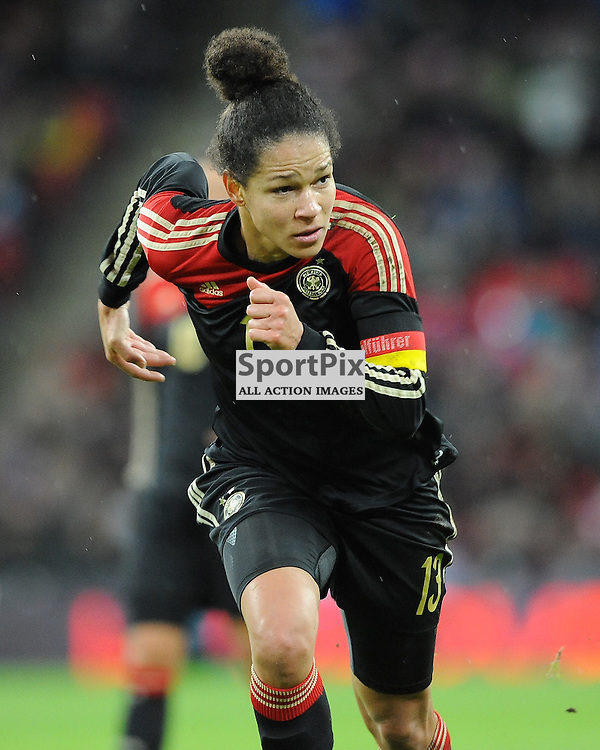 Celia Sasic, Germany, England v Germany Ladies, Breast Cancer Care International, Wembley , Sunday 23rd November 2014