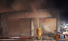 Auckland-Fire crews battle major fire at Matakana Automotive