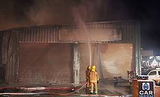 Auckland-Fire crews battle major fire at Matakana Automotive