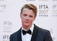 Actor Paddy Gibson at the 2017 IFTA Film & Drama Awards at the Round Room of the Mansion House, Dublin,  Ireland Saturday 8th April 2017.